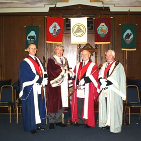 Abbey Chapter Centenary 2 December 2014